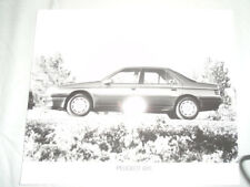 Peugeot 605 Press Photo c1990's v4