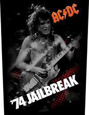 AC/DC For Jailbreak   Rückenaufnäher 602626 #