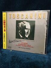 Sealed! Japan Toscanini Brahms Symphony No. 2  R32C-1020 RCA CD
