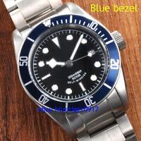 41mm Japan Miyota Sapphire Glass Sterile Men's Corgeut Parnis Automatic Watch