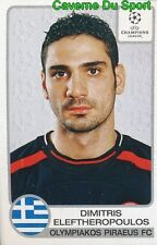 211 ELEFTHEROPOULOS GREECE OLYMPIAKOS STICKER PANINI CHAMPIONS LEAGUE 2001-2002