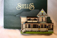 Shelia's 1996 Collectible Victorian House Phillippi Home Knoxville, Tn w/ Box
