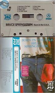 BRUCE SPRINGSTEEN BORN IN THE USA cassette tape k7 747 ref 9380