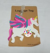 Party : Unicorn Travel Luggage Bag Tag Party Giveaways
