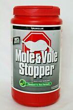 Mole Vole Stopper Repellent 2.5 pound Granular formula Shaker Bottle New Sealed