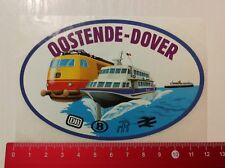Aufkleber/Sticker: DB Oostende Dover (03051744)