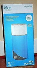 BlueAir Pure 411 Air Purifier & Carbon Filter Traps Allergens Odors NEW