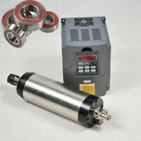 WASSERGEKÜHLTE WATER FRÄS SPINDEL MOTOR Für CNC 1,5KW ER11 + Frequenzumrichter