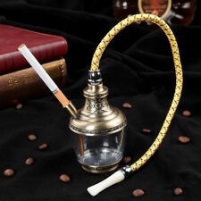 Hookah Shisha Nargila Smoking Water Pipe Bong Glass Tobacco Long Hose Bowl Set