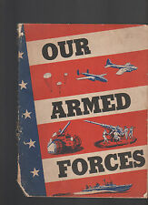 Our Armed Forces 1943 Source Book on Army & Navy for High School Students