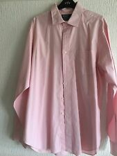 SIZE 17 POLO BY RALPH LAUREN PINK PHILIP PINPOINT OXFORD SUMMER SHIRT RRP £125