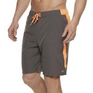 Nike Contend Swim Trunks Stretch Volley Shorts DWR Quick Drying Men's Size M NWT