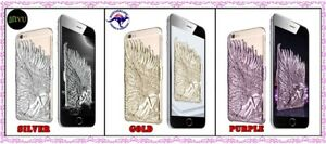 iPhone 6 Angle Wings 3D Shining Electroplated Back Cover Case Brand New AU