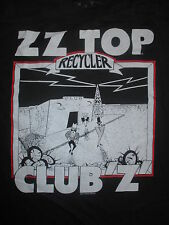"1991 Zz Top ""Recycler"" Club 'Z' World Concert Tour (Xl) Shirt Billy Gibbons"