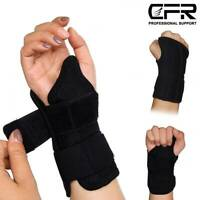 Wrist Brace Support Carpal Tunnel Arthritis Tendon Night Splint Right Left Hand