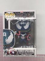 Funko Pop! Vinyl Marvel Venomized Captain America #364 I05
