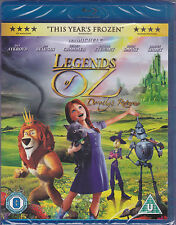 Legends of Oz Dorothy's Return Region B Blu-Ray NEW Lea Michelle Patrick Stewart