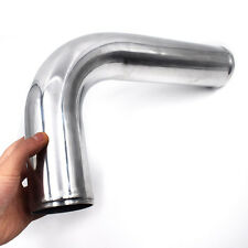 Polished 3'' 76mm 90 Degree Elbow Aluminum Turbo Intercooler Pipe Piping Tubing