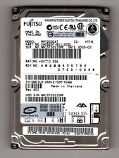 """Fujitsu 30GB Internal 4200RPM 2.5"""" (MHT2030AT) IDE Laptop HDD. Scanned & Wiped.."""