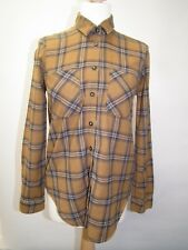 Ladies Brown check shirt from TopShop size 6