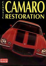 CAMARO RESTORATION MANUAL BOOK RESTORE GUIDE CHEVROLET Z/28 CHEVY HOW 1967-1972