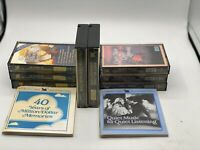 Readers Digest Cassette Tapes. See Descriptio For Titles
