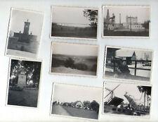 18x Foto Storkow (Mark) Brandenburg 1935-1937 Brücke Schleuse Rathaus Marktplatz