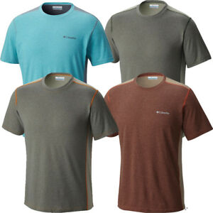 "New Mens Columbia ""Silver Ridge"" Omni-Wick Short Sleeve T-shirt Top Tee Polo"