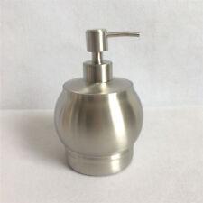550ML Bathroom Bath Soap Dispenser Liquid Shampoo Bottle Stainless Steel Brushed