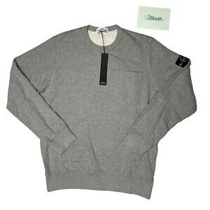 Stone Island Grey Pocket Crewneck Sweatshirt Size XL BNWT RRP £180