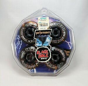 Black Hole Klear Kolor 76mm Inline Skate Wheels Vintage New Rollerblade