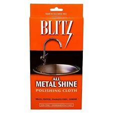 Blitz All Metal Shine Polishing & Cleaning Cloth