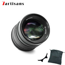 7artisans 55mm/F1.4 APS-C Manual Fixed Lens for M43-mount Cameras Free  Ship