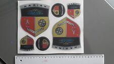 "mariah boat Emblem 4,1"" x 4,7"" Epoxy Stickers Resistant to mechanical shocks"