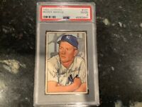 1952 Bowman Mickey Mantle Rookie PSA 2 Good #101 New York Yankees Rc