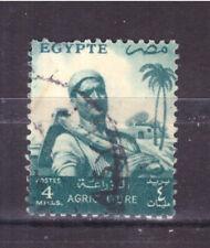 FRANCOBOLLI Egitto Egypt 1954-55 -- Serie Ordinaria 4 m. YV367A