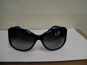 Authentic chanel sunglasses 5226-H c1218/3c 64/16 navy blue frame gray lenses