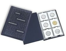 60 Pocket Coin Album NUMIS Lighthouse HIGH QUALITY for 2x2 Holder Book Case