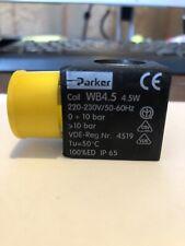 PARKER SOLENOID VALVE COIL WB4.5 6W UGOLINI SLUSH MACHINE 304262