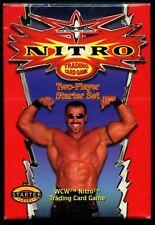 NITRO WCW TRADING CARD SET TWO-PLAYER STARTER SET SEALED,GOLDBERG,STING,ETC