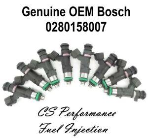 OEM Bosch Fuel Injectors Set for 04-10 Infiniti QX56 5.6 V8 05 06 07 08 09