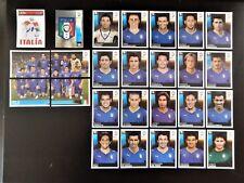 Panini UEFA Euro 2008 Austria/Switzerland Complete Team Italy + Foil Badge