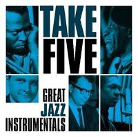 TAKE FIVE GREAT JAZZ INSTRUMENTALS (MILES DAVIS Q./JOHN COLTRANE Q./+) CD NEU