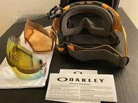 oakley airbrake ski goggles Extra Lens Case Bag Papers