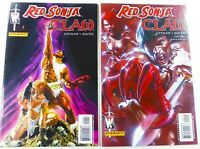 WildStorm RED SONJA/CLAW #1 2 VF (8.0) Jim Lee, Alex Ross + Dell Otto Covers