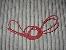 """1 pair 72"""" Length x 1/8"""" Width Rawhide Leather Shoe Boot Lace String"""