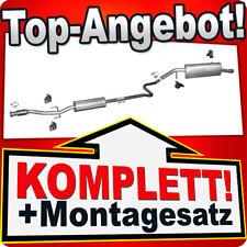Auspuff PEUGEOT 207 1.4 1.6 Schrägheck Kombi Cabrio Auspuffanlage U09A
