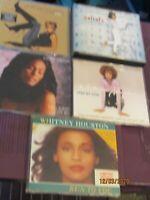 Whitney Houston  job lot    cd single
