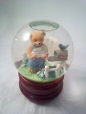 San Francisco Music Box Company, Bear Snow Globe, Music Box, Water Globe