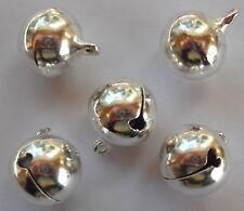 10 pieces 16x14mm Tibetan Silver Bell Alloy Charm Pendants A2339